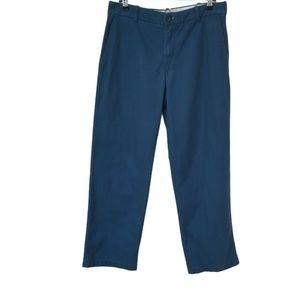 Izod Straight Fit Flat Front Saltwater Pants.32X30
